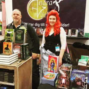Andra Världar i Fantastikgränden Bokmässan 2016